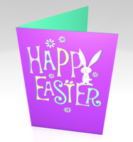 easter card 3d 3ds