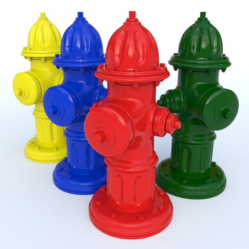 3d new hydrant