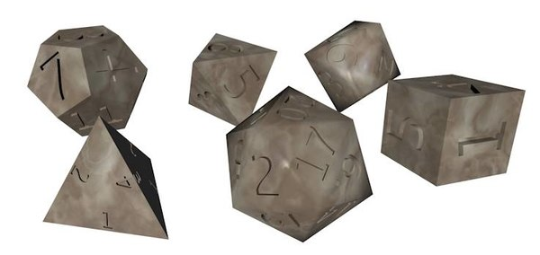 3dsmax role play dice