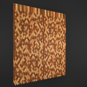 3ds max wooden roof