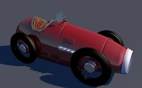 schuco car toy 3d c4d