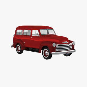 3d model chevy suburban