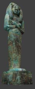 egyption sculpture 3d model