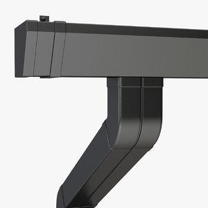 gutter rain water 3d model