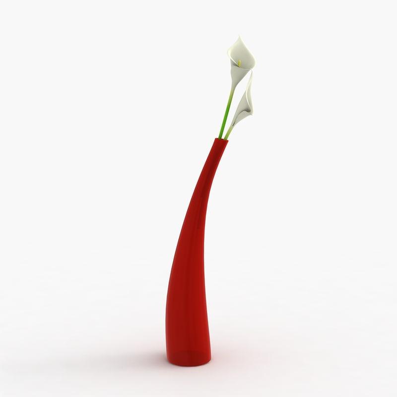 max modern vase flowers