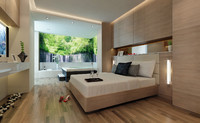 3D Models Photoreal bedroom