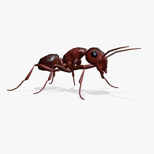 maya ant animation