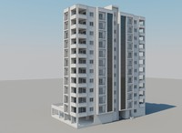 apartment 3d model