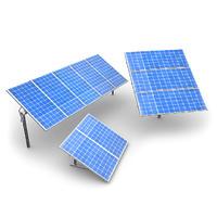 lwo solar panels