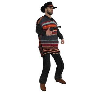 rigged cowboy hat max
