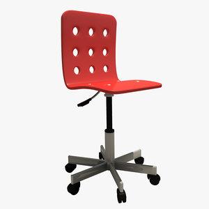3d jules kids chair