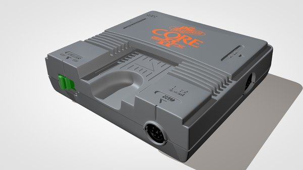 3d pc engine core grafx model