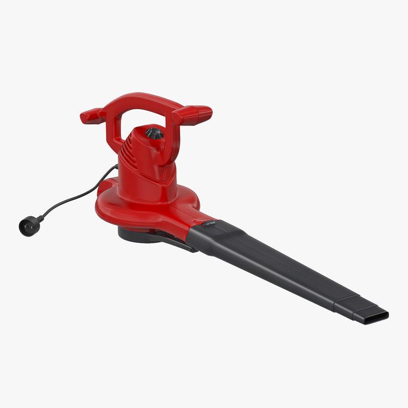 leaf blower 3d model