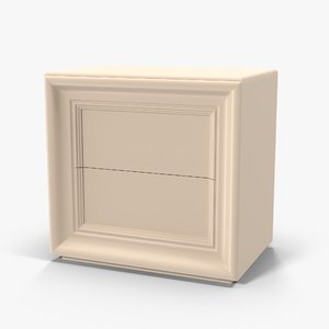 3d model halley love nightstand