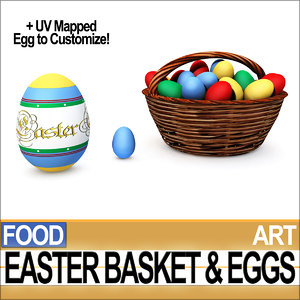 easter basket eggs 3ds