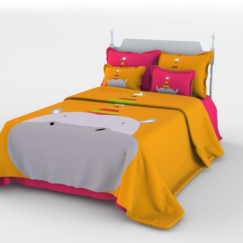 children bed 3d model