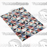 3d model boconcept cubic rug