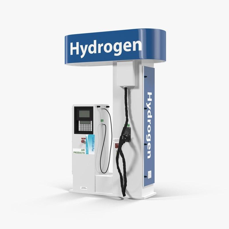 max hydrogen fuel station