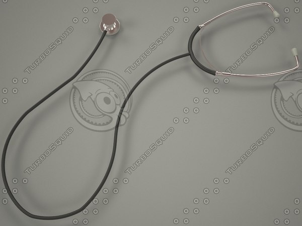 3d model stethoscope