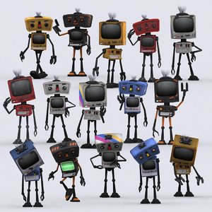 3ds infobots robots