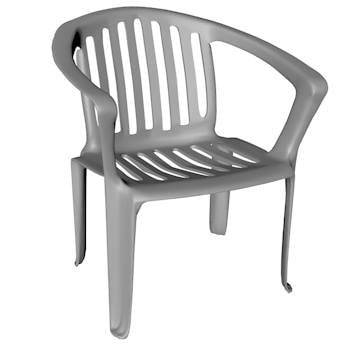 3d plastic chair
