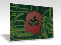 3d circuit board head gears