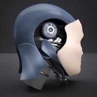 robot head max