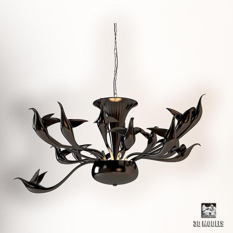 3dsmax visionnaire limburg chandelier