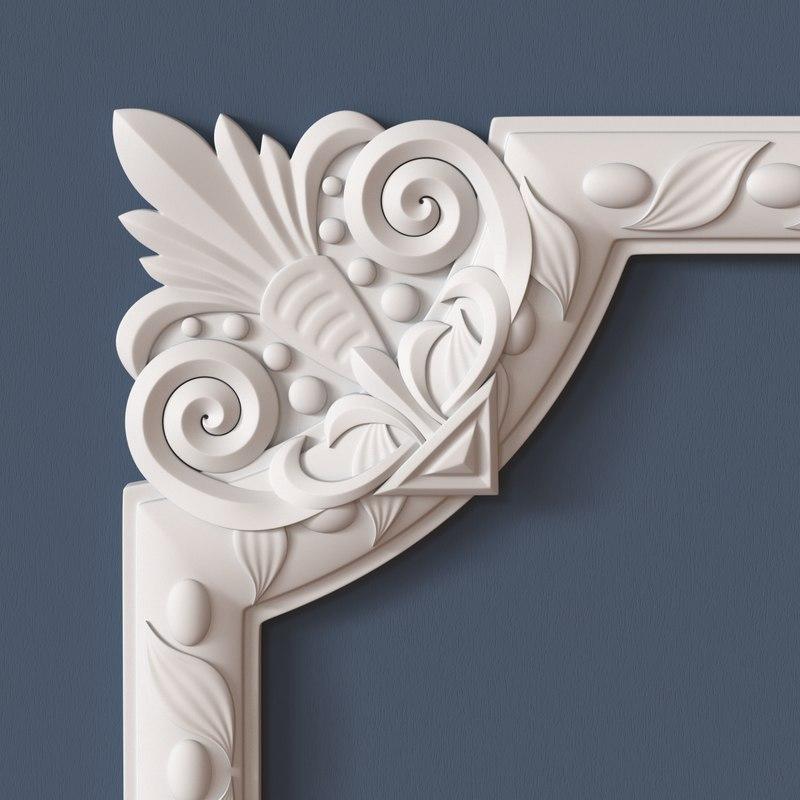 3dsmax molding corner