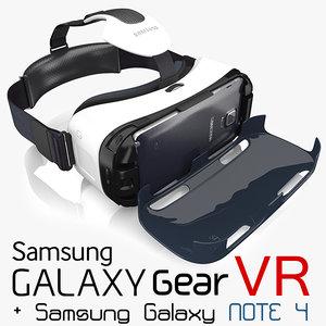 3d samsung galaxy note 4 model