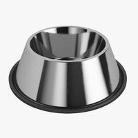 3d model dogs bowl