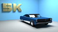 Pontiac Based Old Car(Game-Ready)