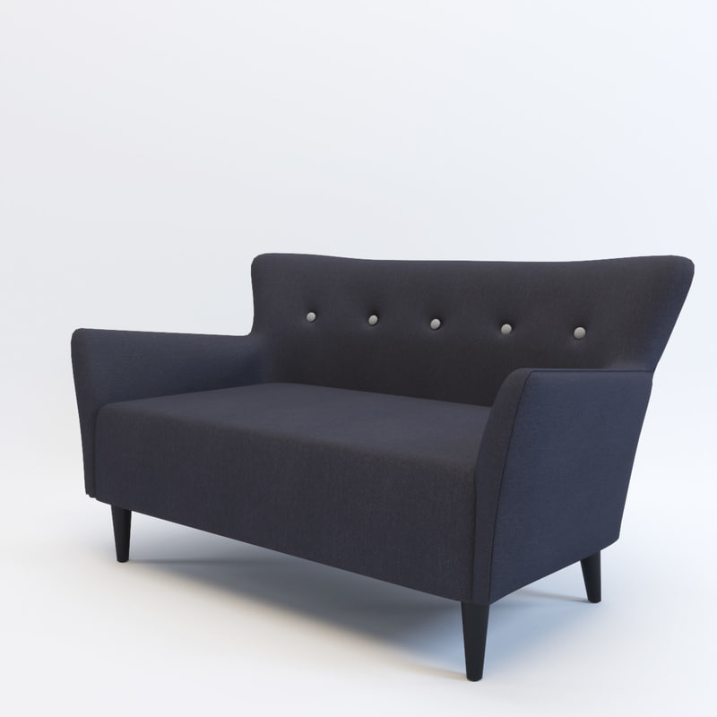 3d model sofa gramercy home
