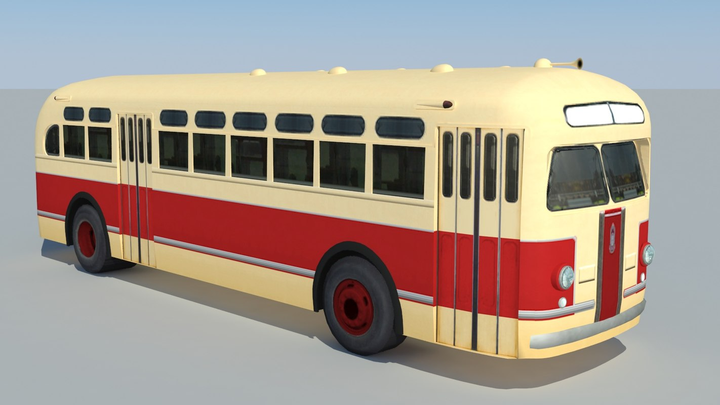zis-154 bus 3ds
