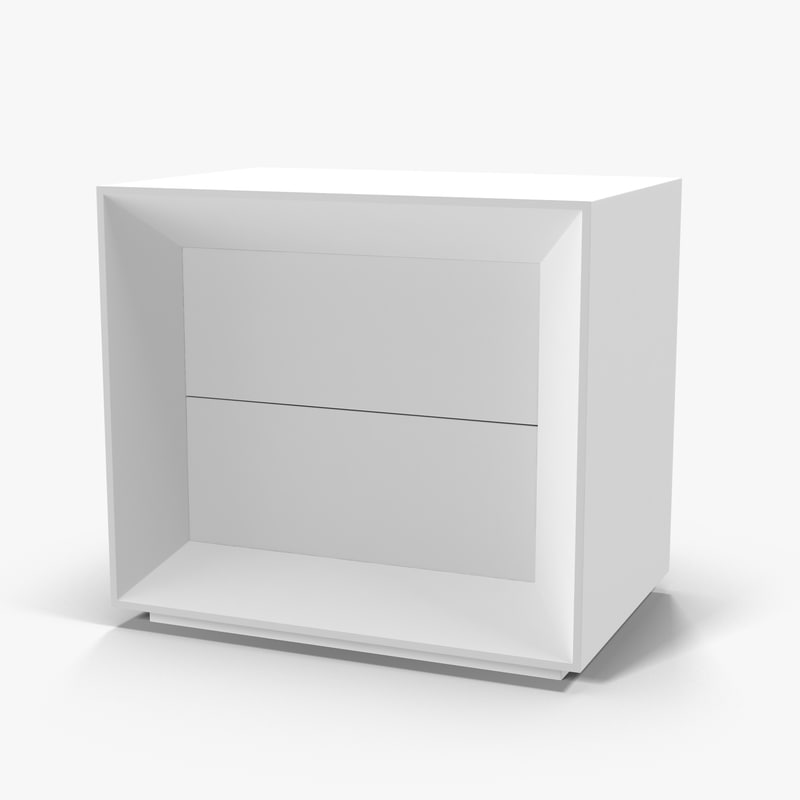 halley love nightstand 3d model