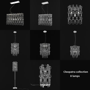 3d ideal lux cleopatra lamps