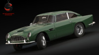 3d model of aston martin db5 vantage