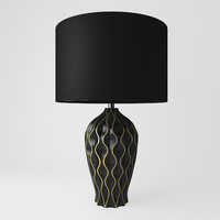 Table lamp SPHERE A1450LT1BK