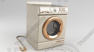 machine washing retro model