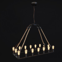 Zuo Modern Contemporary -  Gallite Ceiling LampTwine
