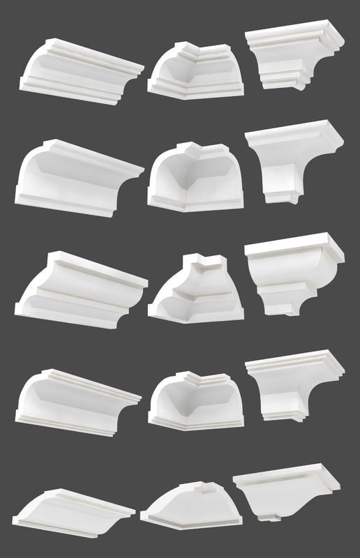 3d model mouldings