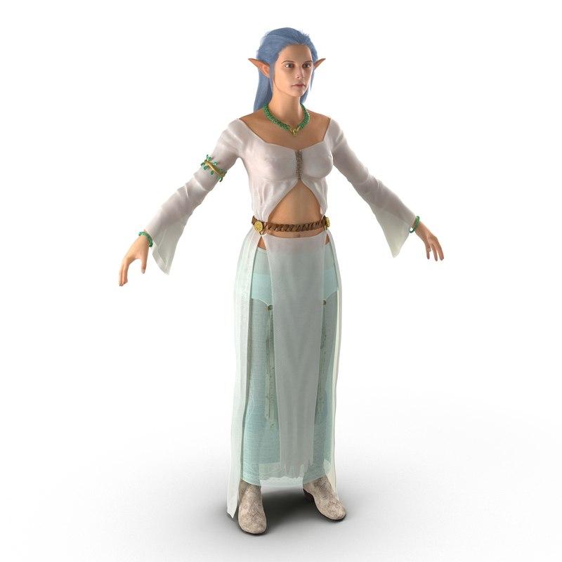 3dsmax female elf