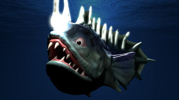 fish 3d obj