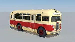 zis-155 bus 3d 3ds