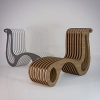 3d x2chair chair model