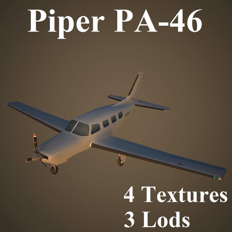 max piper low-poly aircraft