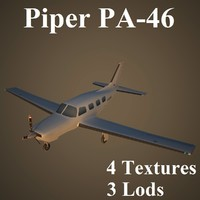max piper low-poly aircraft
