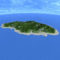 island tree palm max