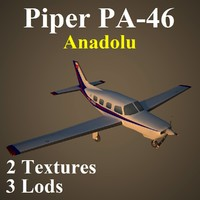 piper anadolu low-poly 3d max
