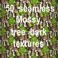 Mossy Tree Bark Mega Collection 1